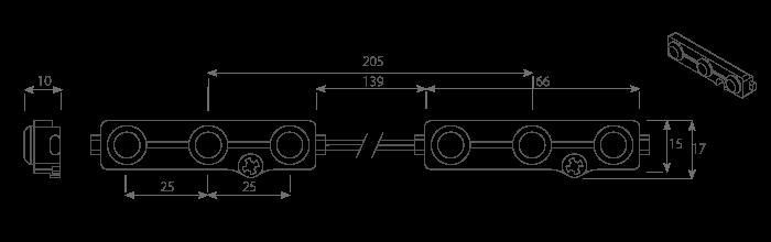 dEUS3 dimensions